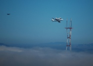 Another shot of the Shuttle and tower